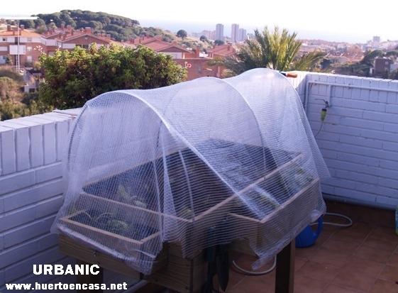 Invernadero para huerto urbano en terrazas - Invernadero casero terraza ...