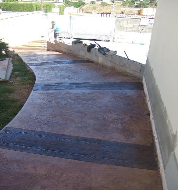 Construir camino de hormig n y piedra p gina 8 for Camino hormigon