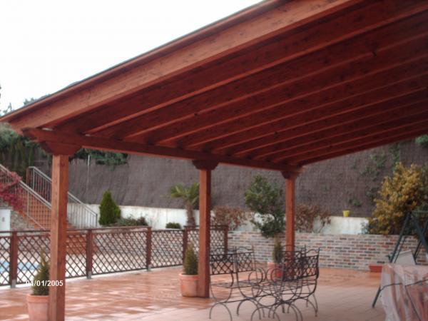 Decoracion mueble sofa pergolas de metal para jardin - Pergola madera aki ...