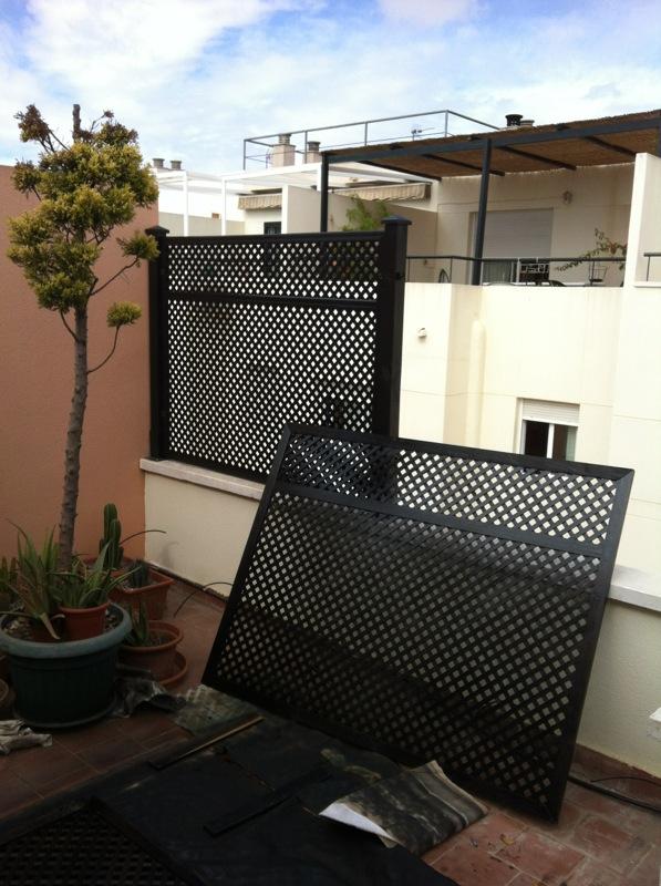 Celosias para terrazas baratas gallery of with celosias for Celosias para jardin